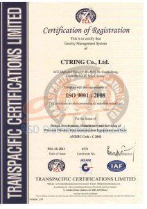 ได้รับมาตรฐาน ISO9001-2008