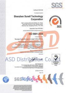 ได้รับมาตรฐาน ISO9001