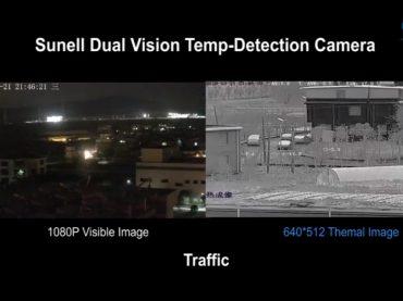 กล้องตรวจจับอุณหภูมิและความร้อน แบรนด์ Sunell