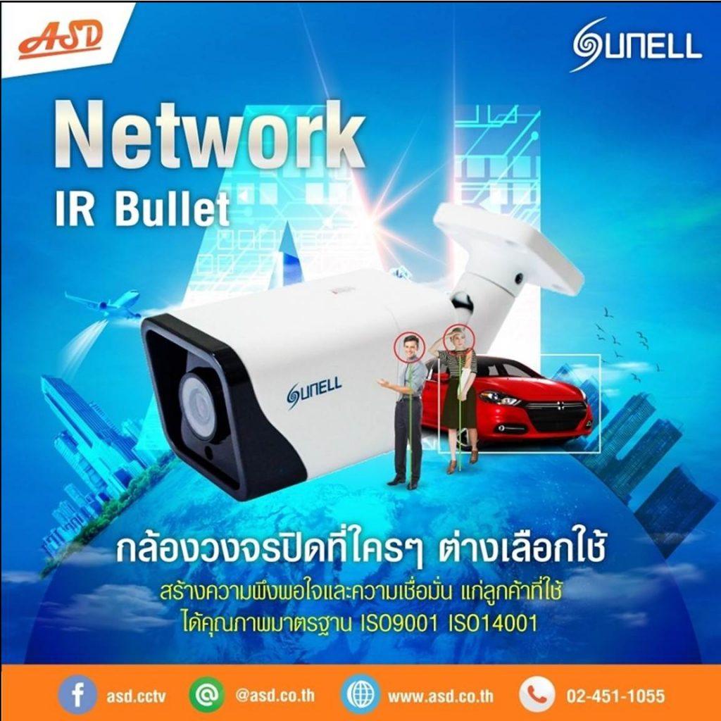 กล้องวงจรปิดระบบ IP Sunell