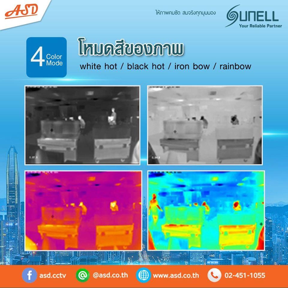 กล้องงตรวจจับอุณหภูมิ รุ่น SN-TPT4230DLM(ll)