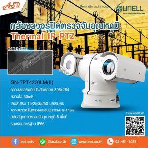 กล้องวงจรปิด Thermal IP PTZ 2MP.