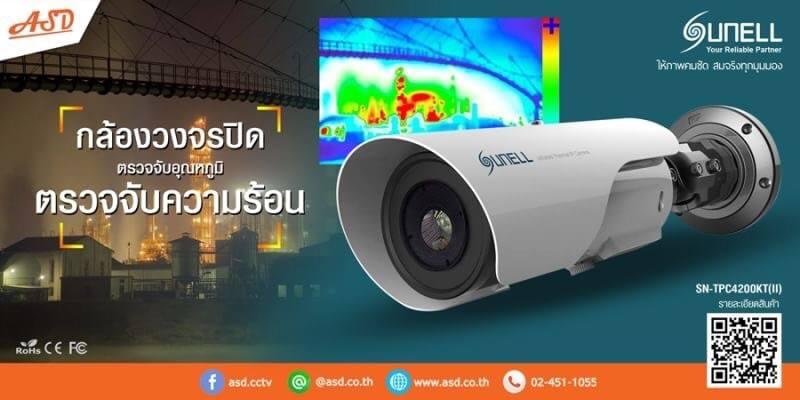 กล้องวงจรปิดตรวจจับความร้อน Suneiijpg