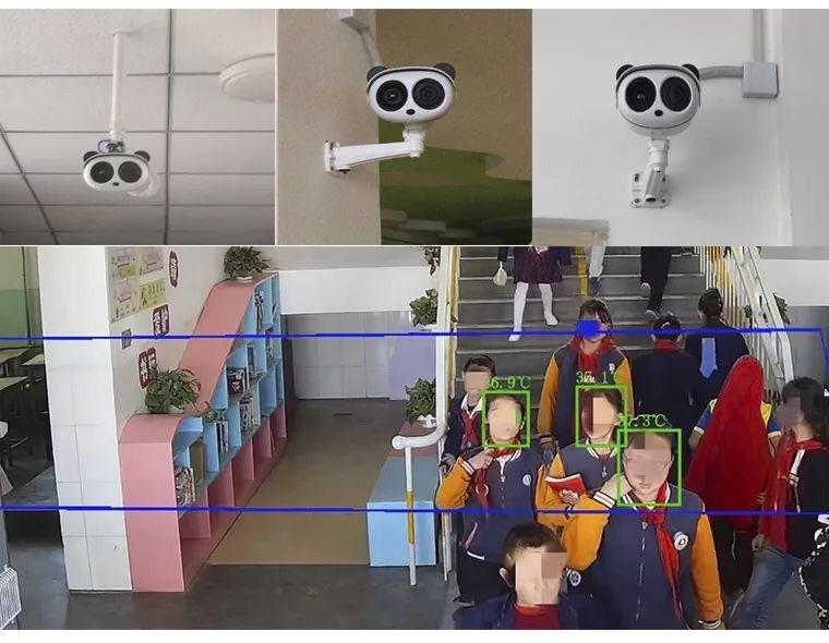 เทคโนโลยี AI กล้องอัจฉริยะตรวจจับความร้อน