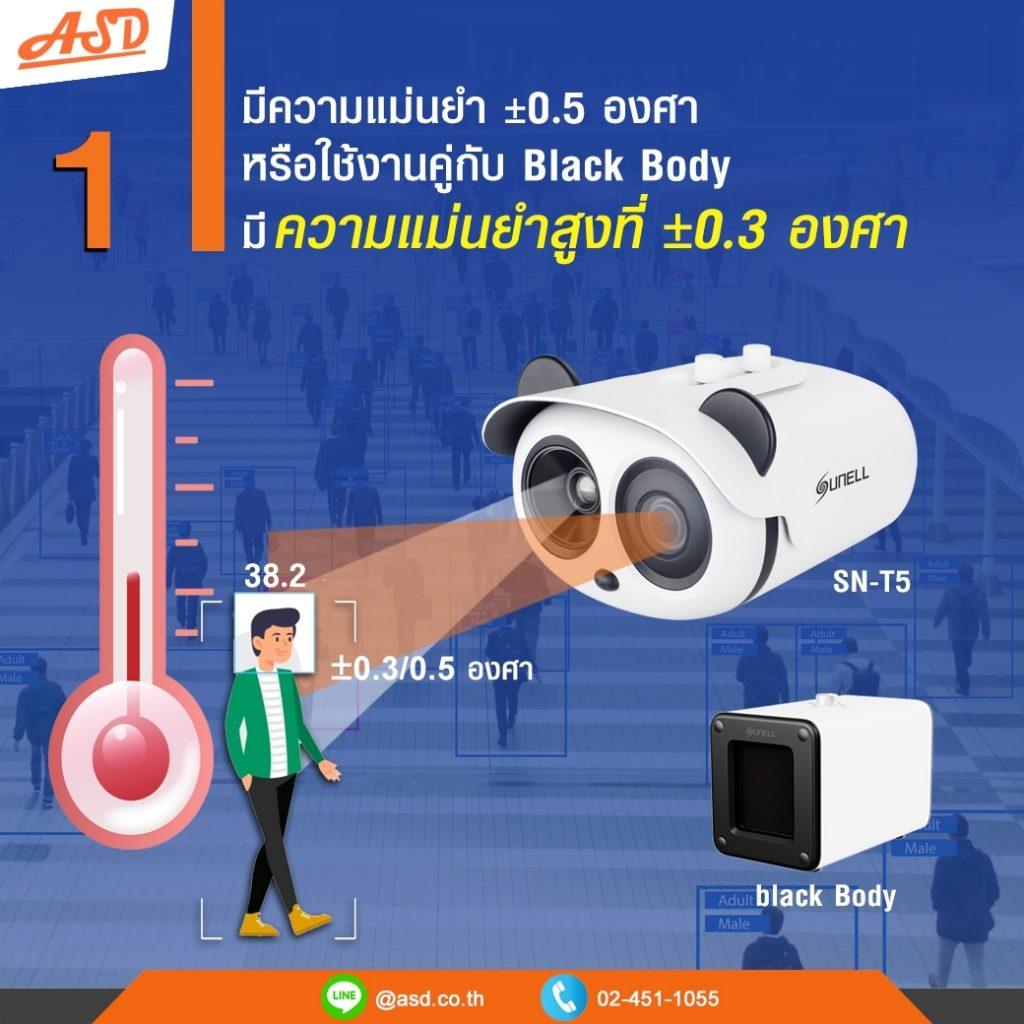 กล้องตรวจจัับมีความแม่นยำสูง รุ่น SN-T5