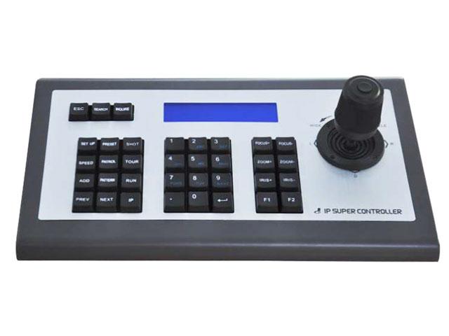 คีย์บอร์ดควบคุมกล้องสปีดโดม Keyborad Controller รุ่น SN-IP-TC01