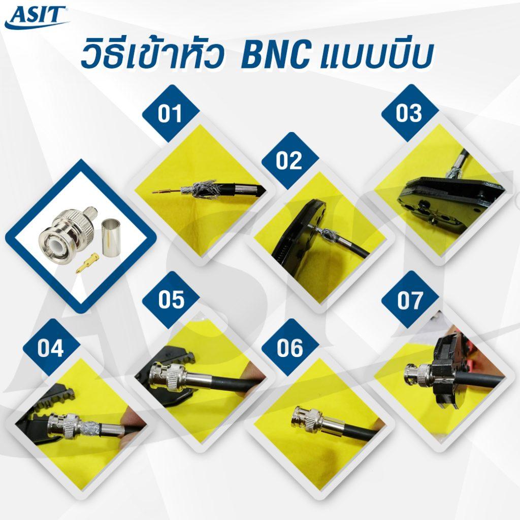 วิธีเข้าหัว-BNC-แบบบีบ-ไม่มีcontact